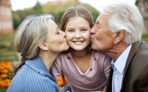 Любимые бабушка и дедушка