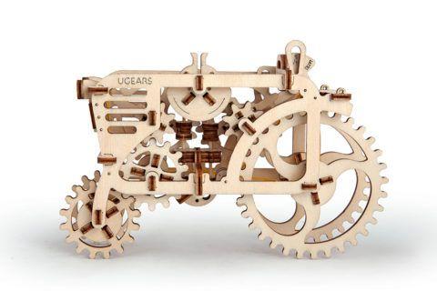 Механический деревянный конструктор