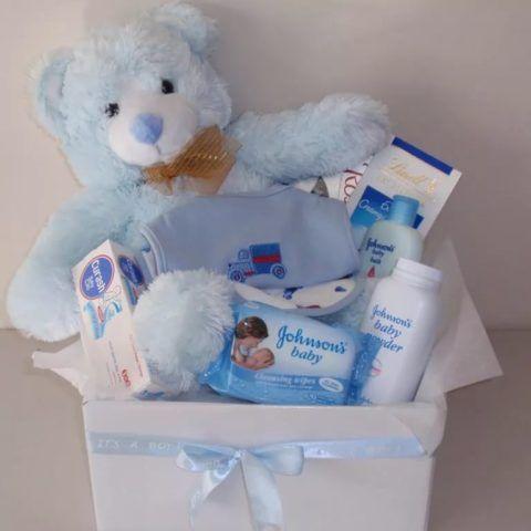 Милый и нежный набор для новорожденного мальчика.