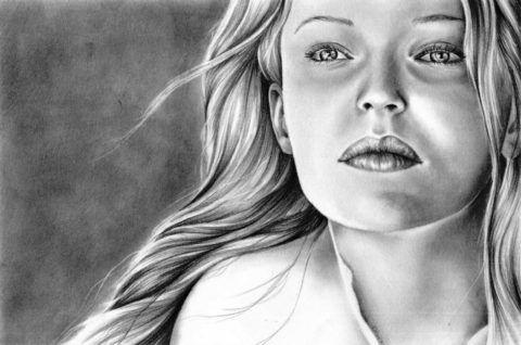 Невероятной красоты портрет