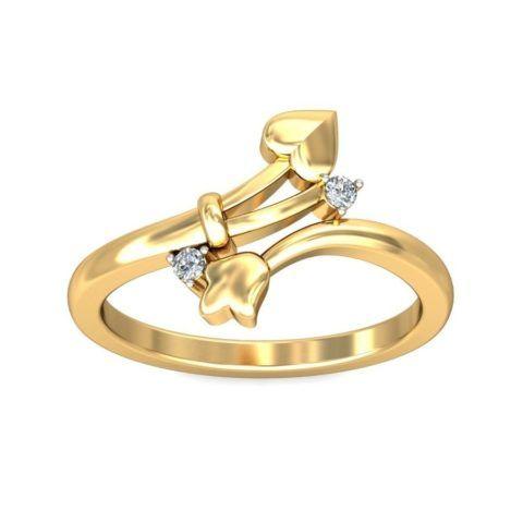 Нежное и неброское кольцо
