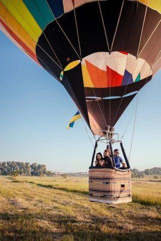 Полет на воздушном шаре – мечта многих.