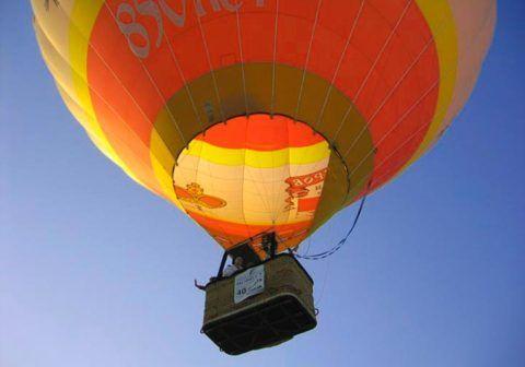 Позвольте вашей руководительнице полетать на воздушном шаре!
