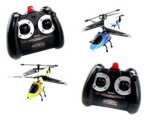 Радиоуправляемый вертолет оценит даже отец ребенка!