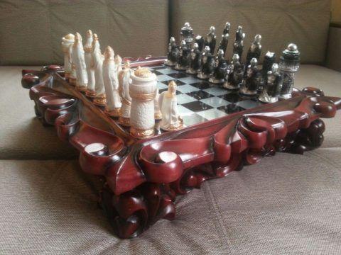 Шахматы ручной работы для истинного ценителя.