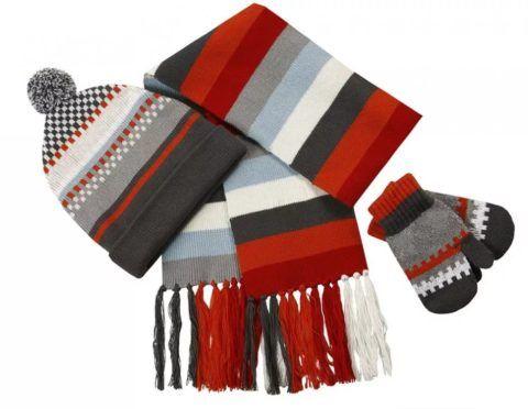 Стильный и теплый комплект, которые согреет зимой.