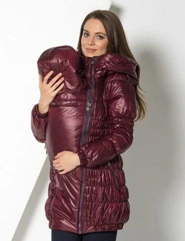 Удобная куртка-трансформер для будущей мамы.