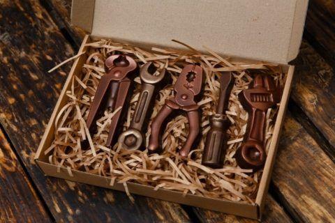 Вкусный набор инструментов.