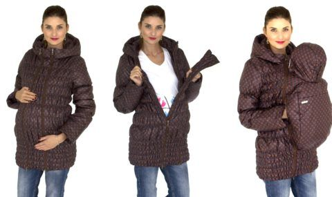 Все три стадии куртки, которые только возможны.