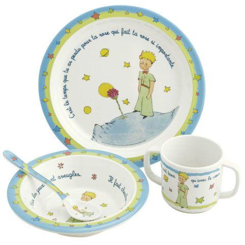 Набор детской посуды «Маленький принц»