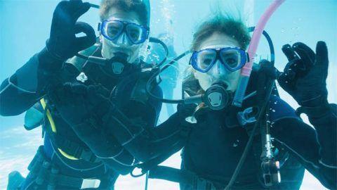 Подводное свидание