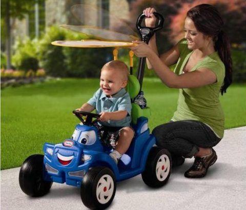 Удобный транспорт для прогулок, это гораздо веселей коляски!