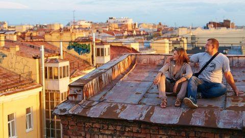 А прогулка по крышам?