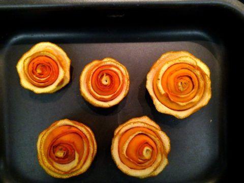 Апельсиновые розы