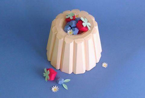 Бумажные пирожные