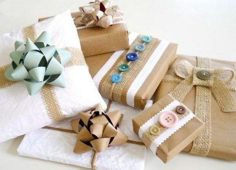 Бумажные подарки