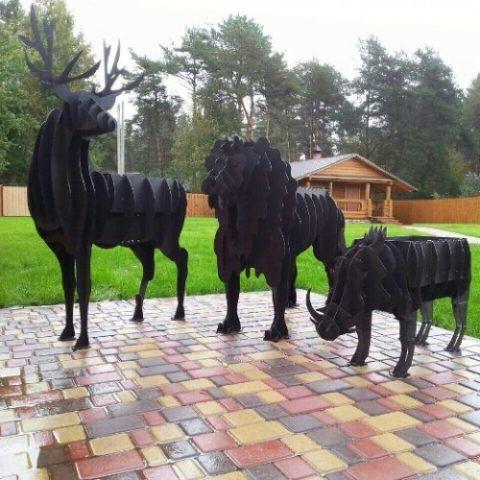Мангалы-скульптуры