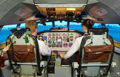 Полет на авиастимуляторе