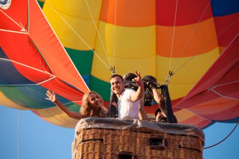 Прогулка на воздушном шаре