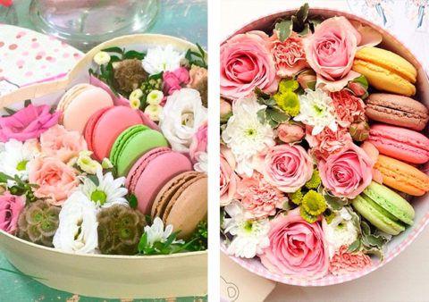 Цветочно-сладкий вариант