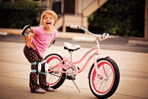 Даже велосипед может быть ярким и красивым.