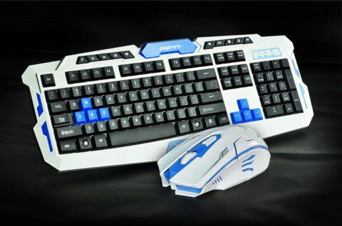 Игровые клавиатура и мышка для настоящих геймеров.