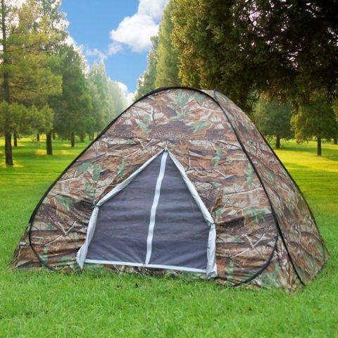 Как же на природе без палатки?