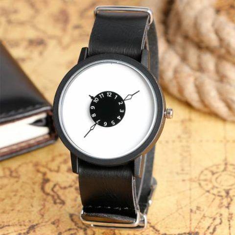 Невероятно стильный дизайн часов!