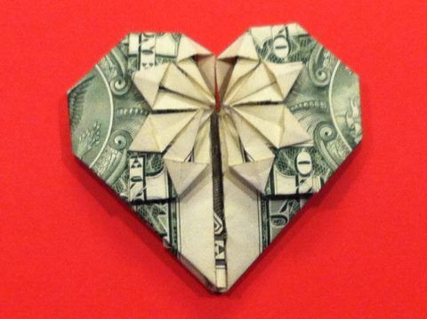 Прекрасное сердце для любимого человека.