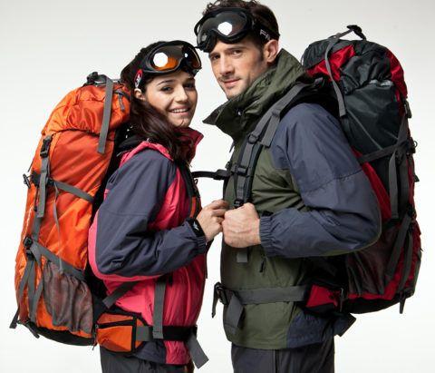 Со специальными рюкзаками в походах намного проще.