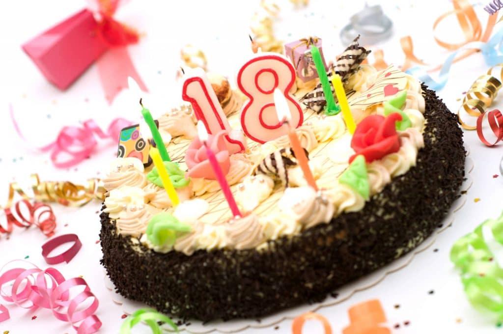 Поздравление 18 лет 24
