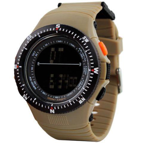 Водонепроницаемые часы могут быть очень необычными и стильными.