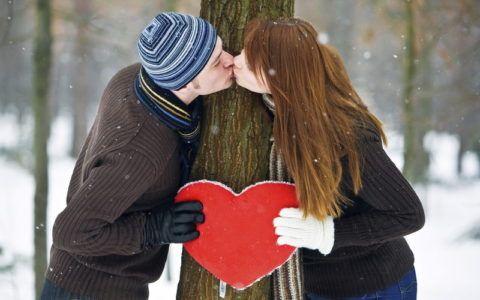 Зимняя фотосессия для пар
