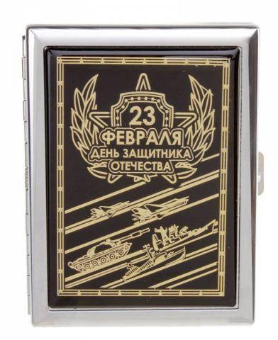 Невероятно стильный дизайн портсигара с гравировкой.