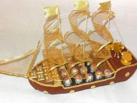 Невероятный корабль, который станет прекрасным сувениром на долгое время.
