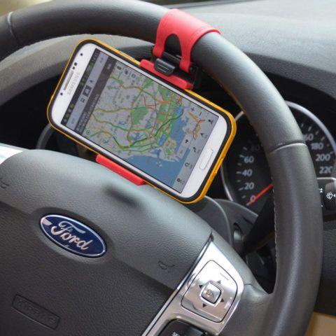 Очень удобный, надежный и полезный держатель для смартфона в автомобиль.