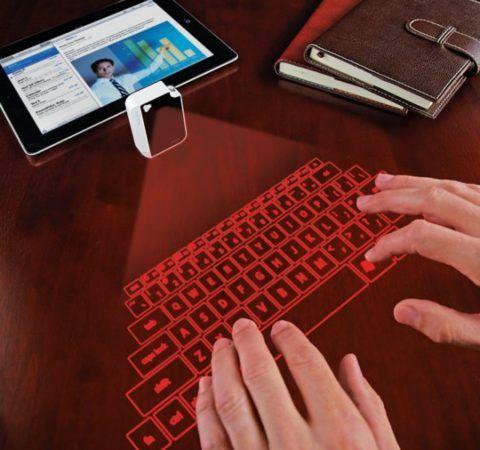 Оригинальная виртуальная клавиатура.
