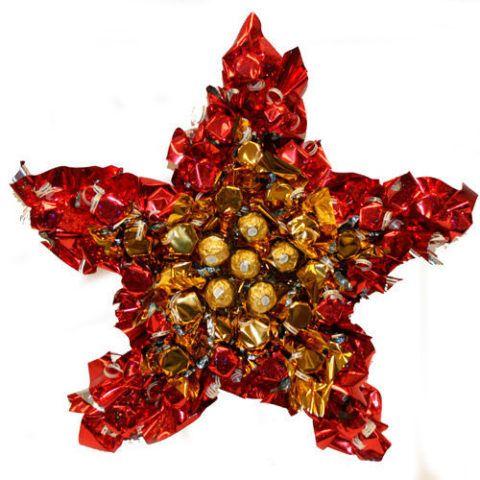 Праздничная звезда – прекрасный сладкий презент!