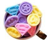 Фигурный цветной сахар в конфетах