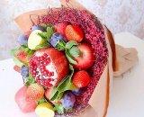 Букет из фруктов – это необычно и полезно!