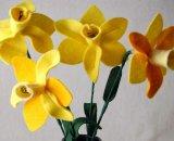 Букет цветов из фетра