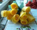 Розы из гофрированной бумаги – хороший подарок на 8 марта