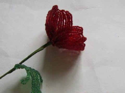 Готовый цветок