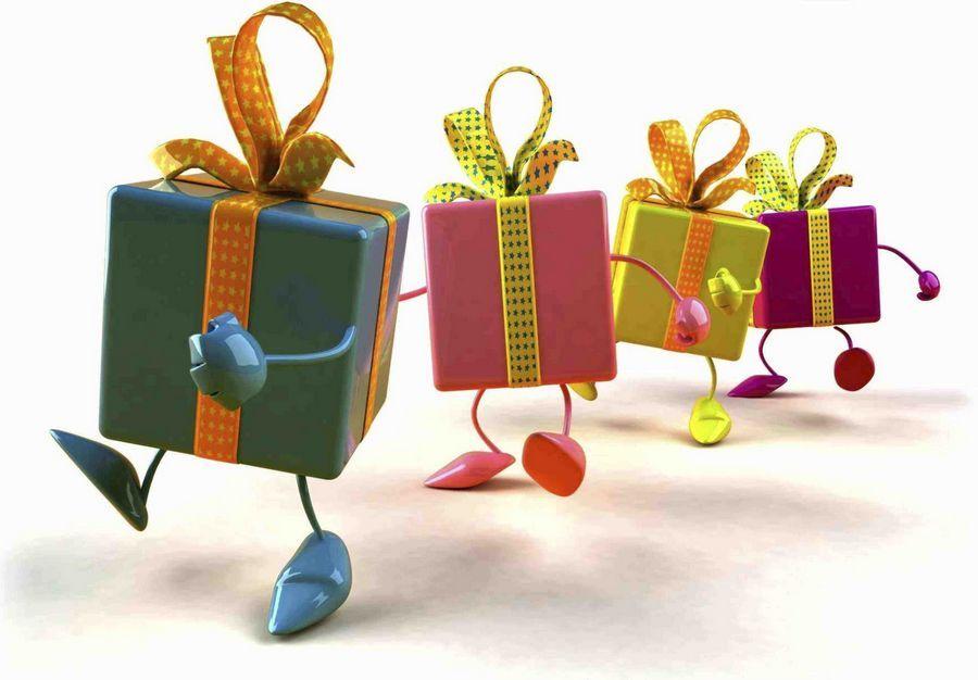 Как вы необычно вручали подарки 36