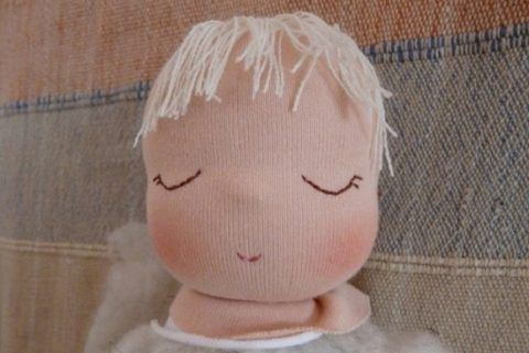 Головка куклы.
