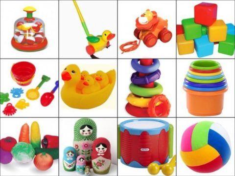 Красивые и полезные игрушки для малышки.