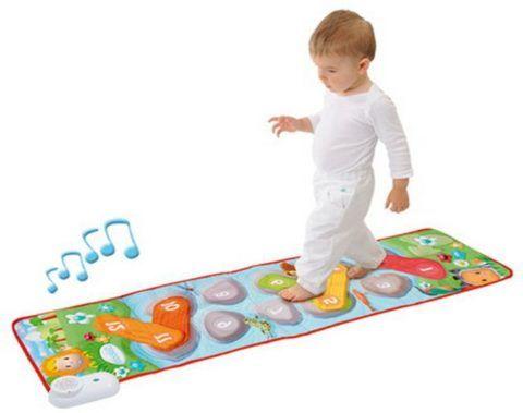 Музыкальный коврик для тренировки навыков ходьбы.