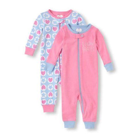 Пижамки для малышек.