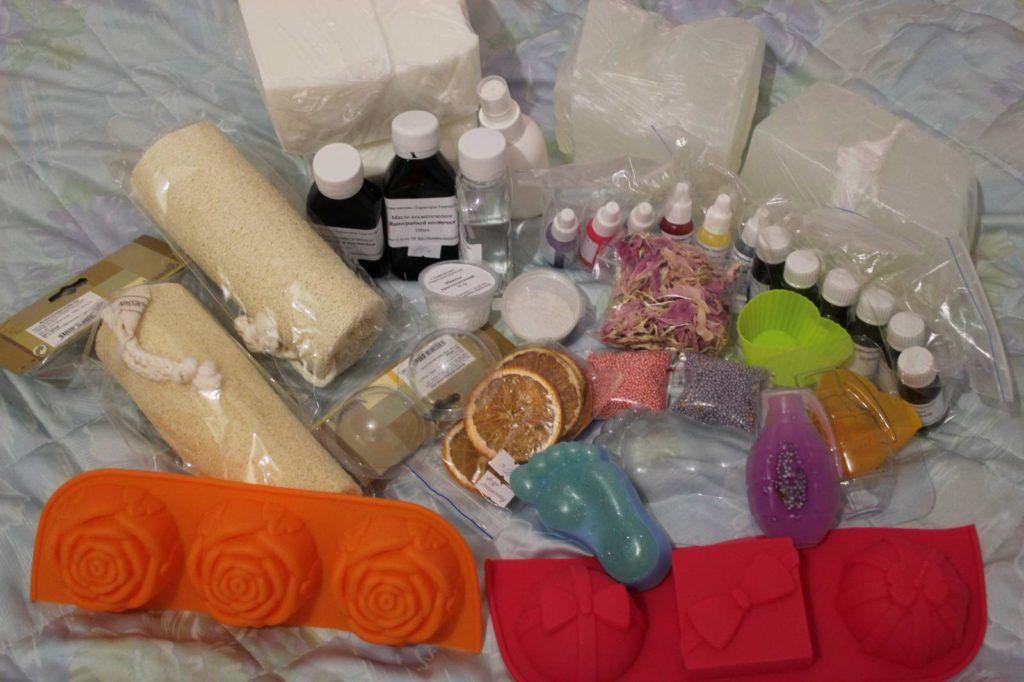 Где продается мыльная основа для мыловарения