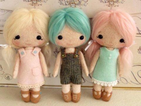 Самодельная куколка